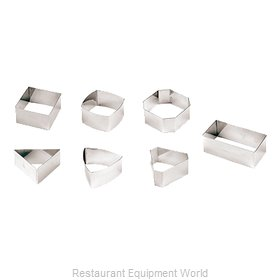 Paderno World Cuisine 47426-01 Pastry Ring