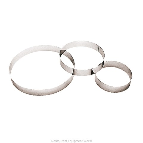 Paderno World Cuisine 47530-18 Pastry Ring