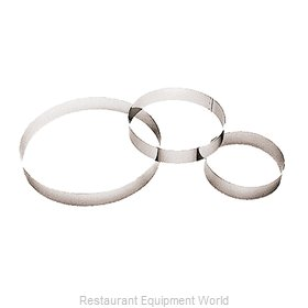 Paderno World Cuisine 47530-24 Pastry Ring