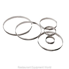 Paderno World Cuisine 47533-14 Pastry Rings