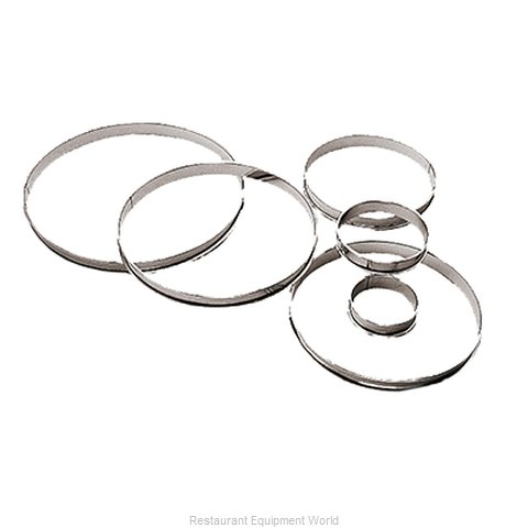 Paderno World Cuisine 47533-18 Pastry Rings