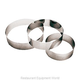 Paderno World Cuisine 47534-18 Pastry Ring