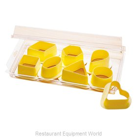 Paderno World Cuisine 47616-06 Dough Cookie Biscuit Cutter