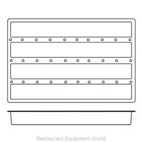 Paderno World Cuisine 47678-16 Baking Sheet Pastry Mold Flexible