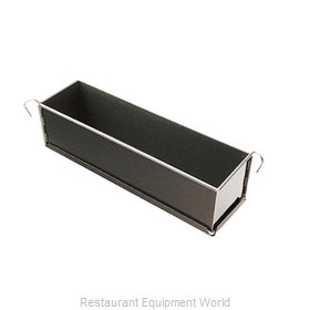 Paderno World Cuisine 47736-50 Pate' Mold, Metal