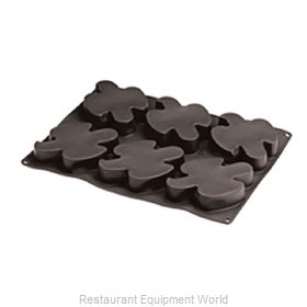 Paderno World Cuisine 47780-05 Baking Sheet, Pastry Mold, Flexible