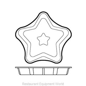 Paderno World Cuisine 47786-01 Baking Sheet, Pastry Mold, Flexible