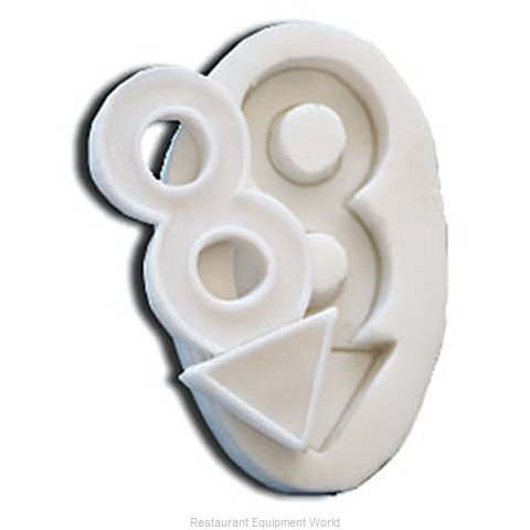 Paderno World Cuisine 47791-35 Butter Candy Mold Flexible