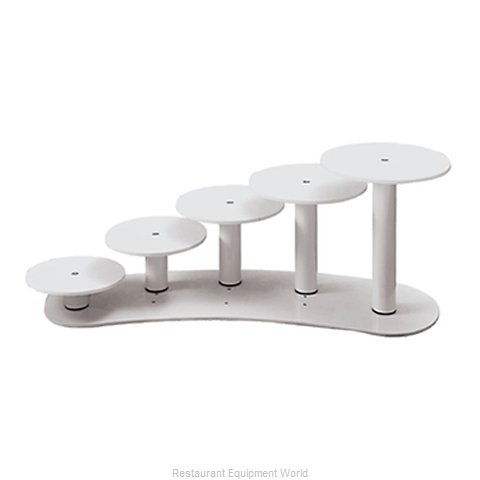 Paderno World Cuisine 47910-10 Tiered Display Server Stand