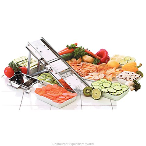 Paderno World Cuisine 49830-00 Mandoline Slicer, Parts & Accessories (Magnified)