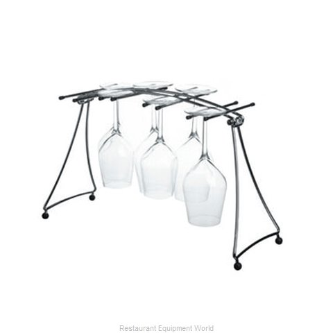 Paderno World Cuisine 95115-8 Wine Glass Drying Rack