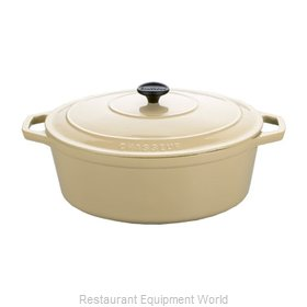Paderno World Cuisine A1717327 Cast Iron Dutch Oven