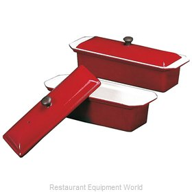 Paderno World Cuisine A1738225 Pate' Mold, Metal