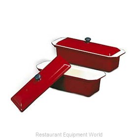 Paderno World Cuisine A1738329 Pate' Mold, Metal