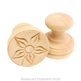 Paderno World Cuisine A4982277 Dough Bread Stamp