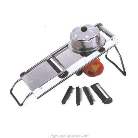 Paderno World Cuisine A49830AE Mandolin Vegetable Shredder Cutter Parts (Magnified)