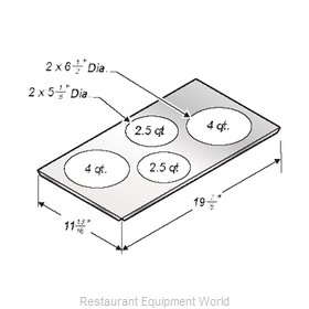 Wells 20434 Adapter Plate