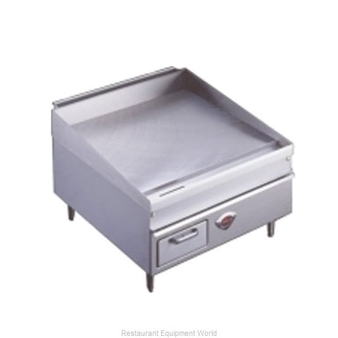 Wells 2424G Griddle, Gas, Countertop
