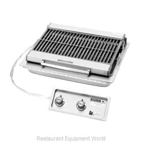 Wells B-406 Charbroiler, Electric, Built-In