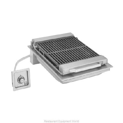 Wells B-446 Charbroiler, Electric, Built-In