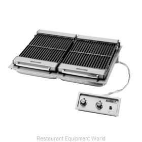 Wells B-506 Charbroiler, Electric, Built-In