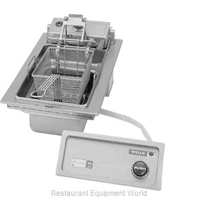 Wells F-586 Fryer, Electric, Drop-In, Full Pot