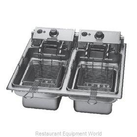 Wells F-886 Fryer, Electric, Drop-In, Split Pot
