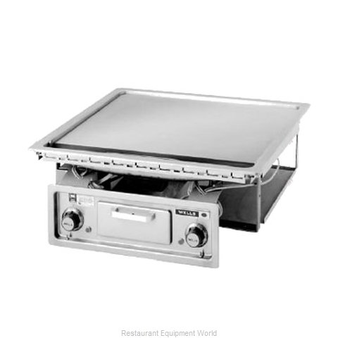 Wells G-136 Griddle, Electric, Built-In