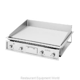 Wells G-236 Griddle, Electric, Built-In