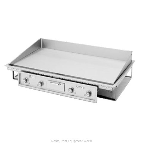 Wells G-246 Griddle, Electric, Built-In