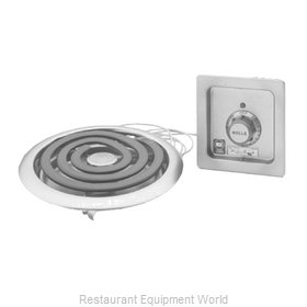 Wells H-336 Hotplate, Built-In, Electric