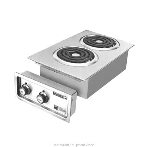 Wells H-636 Hotplate, Built-In, Electric