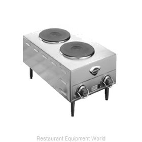Wells H-70 Hotplate, Countertop, Electric