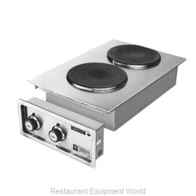 Wells H-706 Hotplate, Built-In, Electric