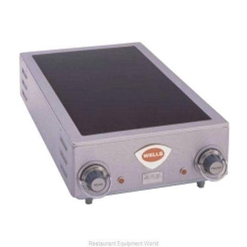 Wells HC-225 Hot Plate (Magnified)