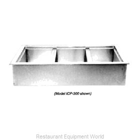 Wells ICP-600 Cold Food Well Unit, Drop-In, Ice-Cooled