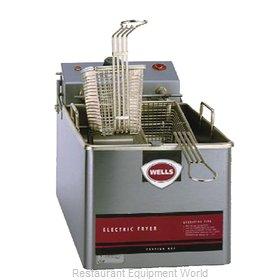 Wells LLF-14-120-QS Fryer, Electric, Countertop, Full Pot