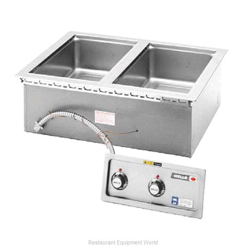 Wells MOD-200DM Hot Food Well Unit, Drop-In, Electric