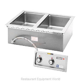 Wells MOD-200TDM Hot Food Well Unit, Drop-In, Electric