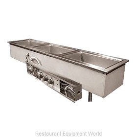 Wells MOD-200TDN Hot Food Well Unit, Drop-In, Electric