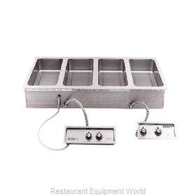 Wells MOD-400TDM/AFS Hot Food Well Unit, Drop-In, Electric