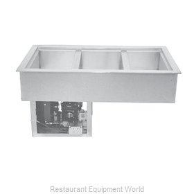 Wells RCP-400 Cold Food Well Unit, Drop-In, Refrigerated