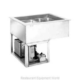 Wells RCP-7600 Cold Food Well Unit, Drop-In, Refrigerated