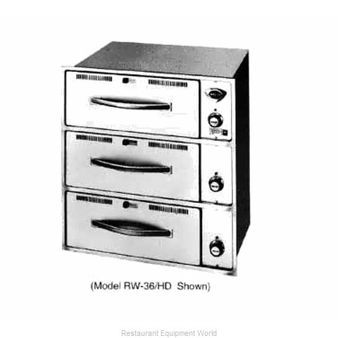 Wells RW-36HD Warming Drawer, Built-In (Magnified)
