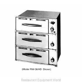 Wells RW-36HD Heavy Duty Food Warming Drawer Unit