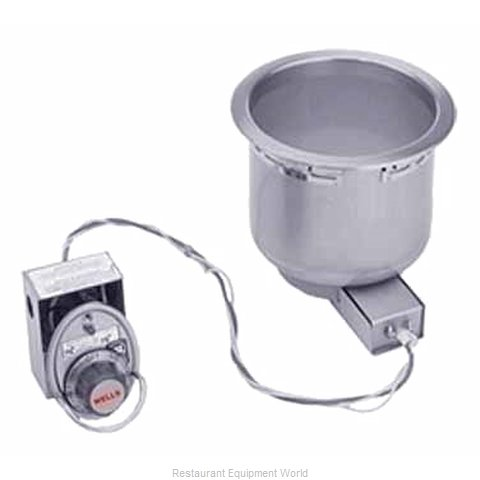 Wells SS-8D Hot Food Well Unit, Drop-In, Electric