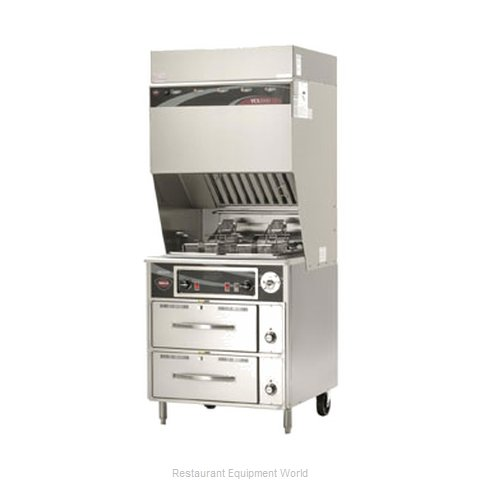 Wells WVF-886RW Ventless Fryer (Magnified)