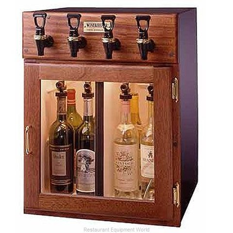 WineKeeper 4-MRN Wine Dispensing System (Magnified)