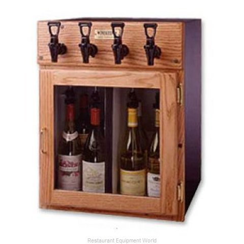 WineKeeper 4X4-O2RN Wine Dispensing System (Magnified)
