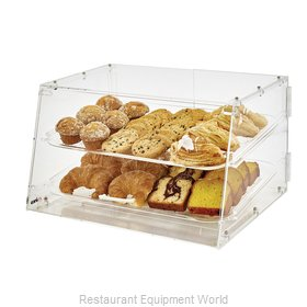Winco ADC-2 Display Case, Pastry, Countertop (Clear)